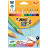Bic Színesceruza kids ecolutions evolution 3 szögletű 12db-os