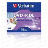 Verbatim DL DVD 8X Printable Jewel Case (1) /43665/