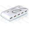 DELOCK USB HUB 7 portos, külső táppal