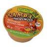 Rapunzel Bio olajos krémek, Szamba mogyorókrém gyerekeknek, porciós kiszerelés (Samba) 45gr (160495)