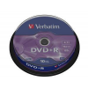 Verbatim DVD+R 4,7 GB x16 Cakebox x100
