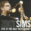 Zoot Sims Live At The Half Note Again! (CD)