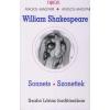 William Shakespeare SZONETTEK - SONNETS /FUX PÁL 154 SZÍNES ILLUSZTRÁCIÓJÁVAL