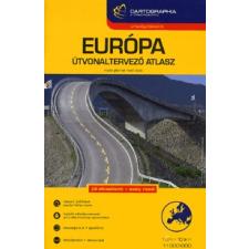 Cartographia Kft. EURÓPA ÚTVONALTERVEZŐ ATLASZA /1:1500000 térkép