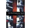 Oxford University Press AS THE INSPECTOR SAID AND OTHER STORIES + CD (OBW 3.) nyelvkönyv, szótár