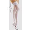 Cottelli Collection Szaténos combfix - fehér