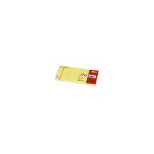 APLI Öntapadós jegyzettömb, 100 lapos, sárga, 38 x 51 mm post-it