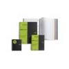 MIQUELRIUS Spirálfüzet MQ Recycled PP A/4, vonalas, 4X40 lap