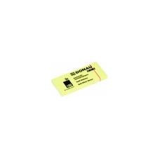 DONAU ECO Öntapadó jegyzettömb pasztell sárga 51x38 mm, 3*100 lap post-it