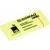 DONAU ECO Öntapadó jegyzettömb pasztell sárga 51x38 mm, 3*100 lap