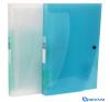 VIQUEL PropyGlass iratrendező táska 12 rekeszes kék mappa