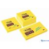 3M/POSTIT 76x76 öntapadós jegyzettömb Super Sticky sárga