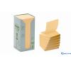 3M/POSTIT Környezetbarát Z-jegyzettömb torony 76 × 76 mm sárga 16db/csom post-it