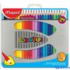 MAPED COLOR`PEPS színes ceruza fém dobozban 24 db/doboz