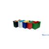 DONAU Függőmappa-tároló fekete 5 db függőmappával