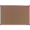 NOBO Elipse parafatábla alumínium kerettel 90x120 cm