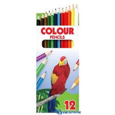 ICO Papagáj színes ceruza készlet 12 szín színes ceruza