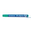 DONAU D-signer U alkoholos marker 2-4 mm zöld kúpos