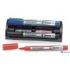 SCHNEIDER Maxx 110 4 színű tábla- és flipchart markerek+utántöltők+szivacs