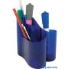 ICO lux írószertartó transzparens kék