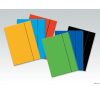 ESSELTE Economy karton gumis mappa kék 10db/csomag mappa