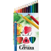 ICO süni színes ceruza 12-es háromszögletű vastag jumbo