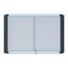 . Beltéri mágneses fali vitrin, 100x70 cm, álló (8xA4)