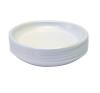 Műanyag tányér kicsi 17 cm átmérő tányér és evőeszköz
