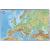 VICTORIA Könyökalátét Európa domborzata
