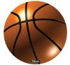 FELLOWES Brite™ kör alakú egéralátét, kosárlabda asztali számítógép kellék
