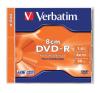 Verbatim DVD-R 8 cm, 1,4 GB, 4x, normál tokban írható és újraírható média