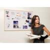 Törölhető tábla Bi-Office fakeretes 30x40 cm