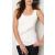 HDI Gildan 64200L női trikó - fehér