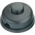 interBär interBär 1 pólusú lábkapcsoló 2 A 250 V/AC fekete 8009