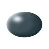 Festék, sötétszürke, selyemmatt, színkód: 378 RAL, színkód: 7012, 18 ml, Revell Aqua