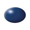 Festék, Lufthansa kék, selyemmatt, színkód: 350 RAL, színkód: 5013, 18 ml, Revell Aqua