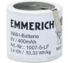 Emmerich Akkucsomag, speciál, 32, 6 V 400 mAh, 1007-5-LF tölthető elem