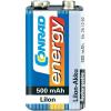 Conrad energy 9V-os akku LiIon 500MAH