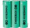 Emmerich NiMH csomag AA 1500 mAh 3 6V FT-1Z tölthető elem