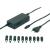 Voltcraft ®NPS-90A, Notebook tápegység, 15V/16V/19V / 4,73 A, max. 90 W, Toshiba, Fujitsu, Sony, Samsung, IBM, Lenovo, Acer, Compaq, Delta, Gateway, HP, Liteon notebookok