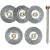 Proxxon Micromot Proxxon Micromot 5db-os acél drótkefe készlet kisgépekhez