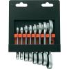 Toolcraft Villás/racsnis kulcskészlet, 8 részes