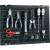 Toolcraft Lyukasztott lap univerzális felhasználásra, 508 x 390 x 15 mm, Toolcraft 88 63 24