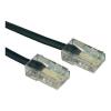 Conrad ISDN Kábel 4 eres, 3m Fekete