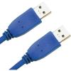 Conrad USB 3.0 hosszabbító, A/A típusú, 0,5 m, kék