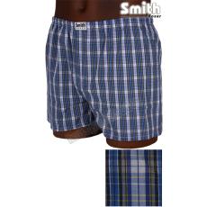 SMITH BOXER Smith A-01 kék kockás boxer