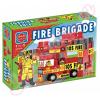 Maxi Blocks tűzoltós építőkockák dobozban 59 db-os - D-Toys