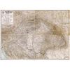 Stiefel Eurocart Kft. A Magyar Szent Korona országainak közigazgatási térképe fakeretben (1906)