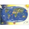 Stiefel Eurocart Kft. Gyermek világtérkép fóliás-fémléces