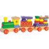 Nagy színes építős vonat WOODY 90840